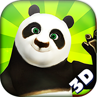 3d熊猫大冲浪