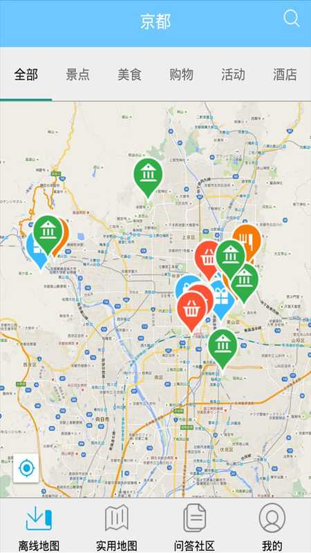 京都离线地图