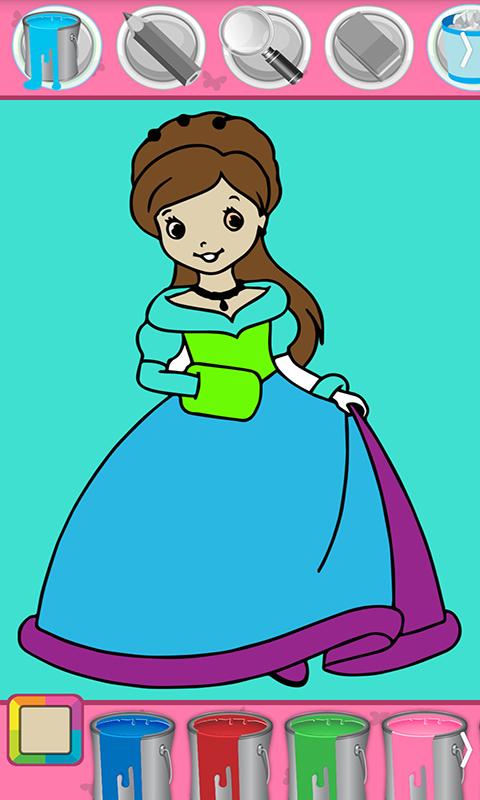 小公主苏菲亚爱画画