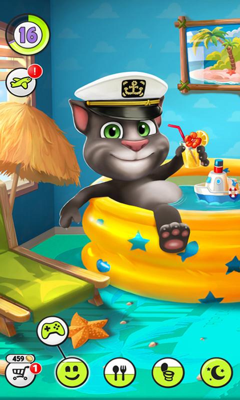 安卓手机游戏汤姆猫_我的汤姆猫免费下载_华为应用市场|我的汤姆猫安卓版(4.3.5.112)下载