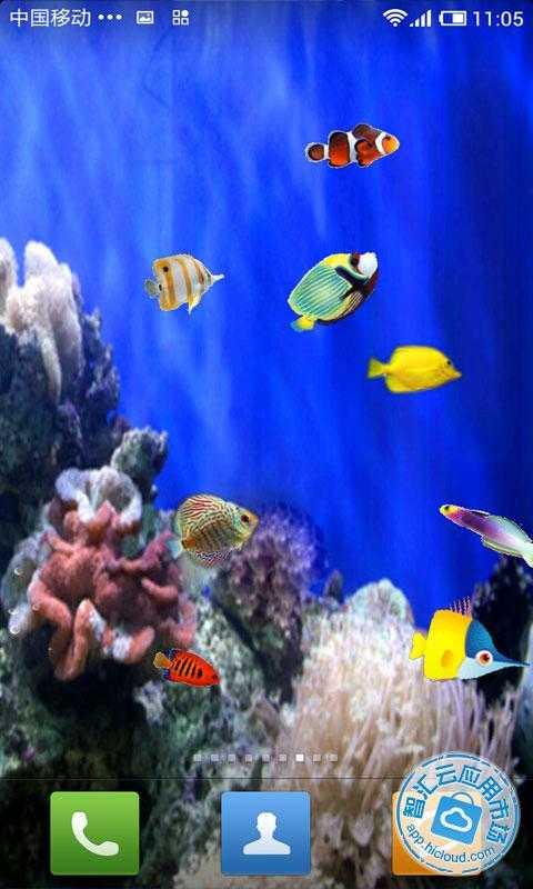 会游动的鱼壁纸_动态海洋电脑桌面(有鱼游动)壁纸-有没有动态海洋(有鱼游动 ...