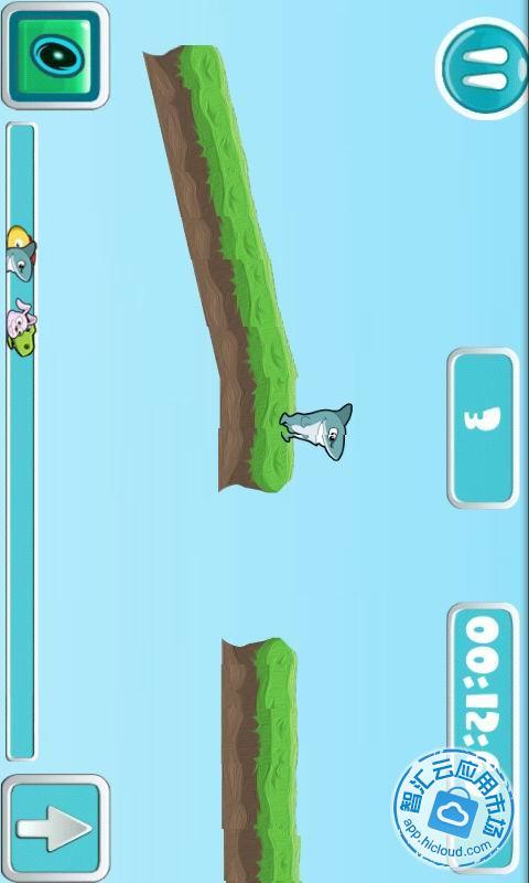 森林赛跑比赛是一款休闲游戏,采用了十分可爱的画风,有四只小动物
