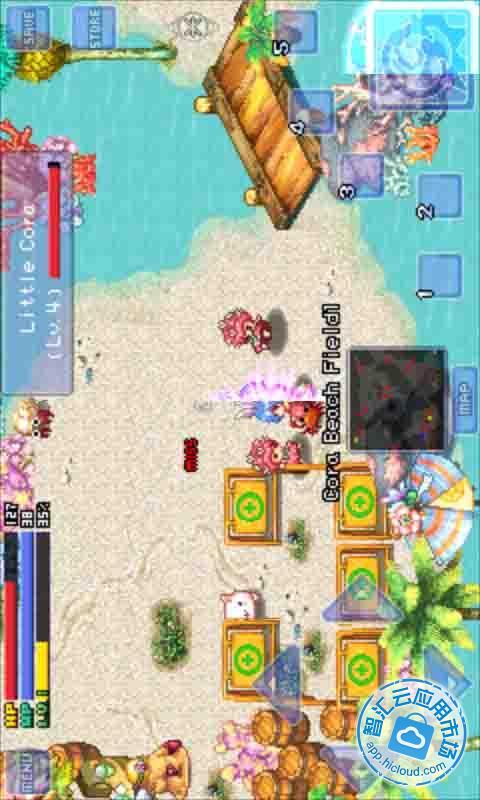 卡片具有抵制岛屿中假想怪兽和自然现象的能力,所以玩家要尽量多多