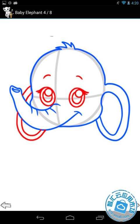如何绘制可爱的卡通动物的应用程序,使得学画画一样方便,尽可能灵活.