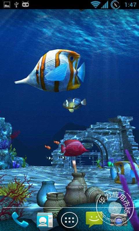 海洋3d动态壁纸 介绍