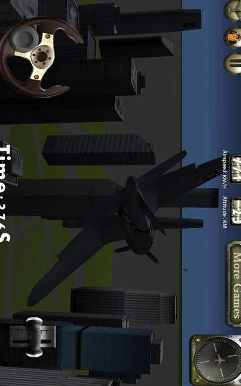 二次世界大战3d飞行模拟游戏功能 - 20种不同的飞机任务 - 着陆,起